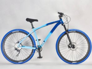 Lucky 6 STB-R Blue Large - Complete Wheelie Bike